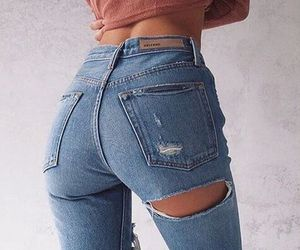 ass and jeans image