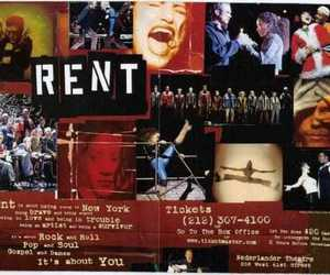 rent, broadway, and rent musical image
