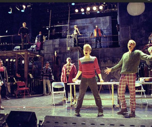 broadway, musical, and rehearsal image