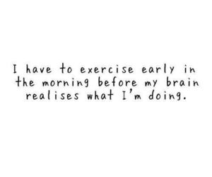 brain, exercise, and morning image