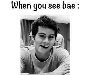 teen wolf, dylan o'brien, and bae image
