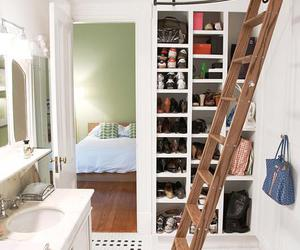 bathroom and closet image