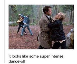 supernatural, funny, and castiel image