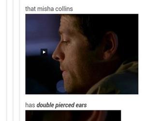 supernatural, castiel, and misha collins image