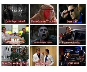 funny, dean winchester, and Jensen Ackles image