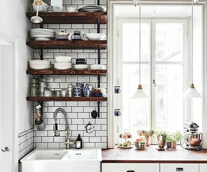 kitchen, home, and house image