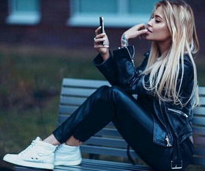 girl, blonde, and fashion image