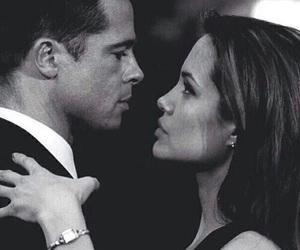 love, Angelina Jolie, and brad pitt image