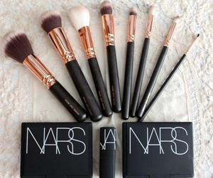 nars, makeup, and Brushes image