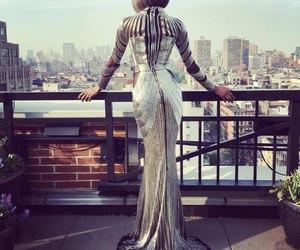 dress, met gala, and model image