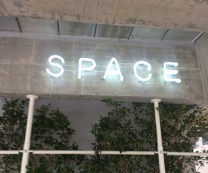space and light image