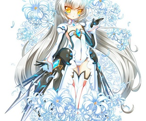 eve, flowers, and elsword image