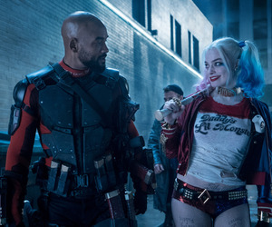 harley quinn, suicide squad, and deadshot image
