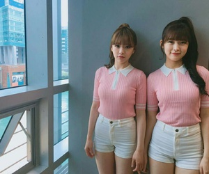 arin, oh my girl, and jine image