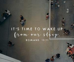 christian, Romans, and sleep image