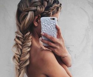 amazing, dress, and hair image