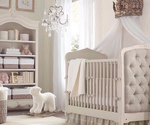 baby, room, and white image