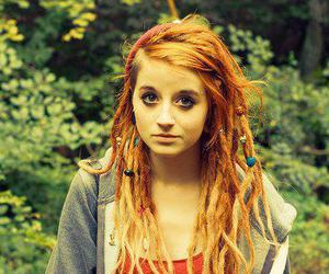 girl, dreads, and pretty image