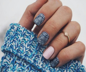 pink and manicure cute image