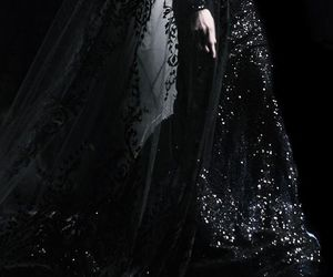 black, fashion, and dark image