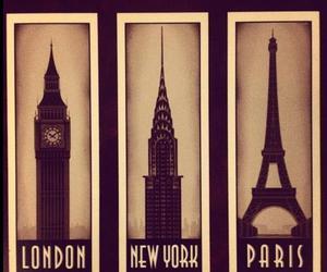 london, paris, and new york image