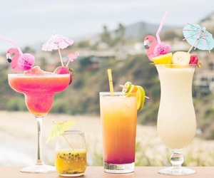 Cocktails, delicious, and drinks image
