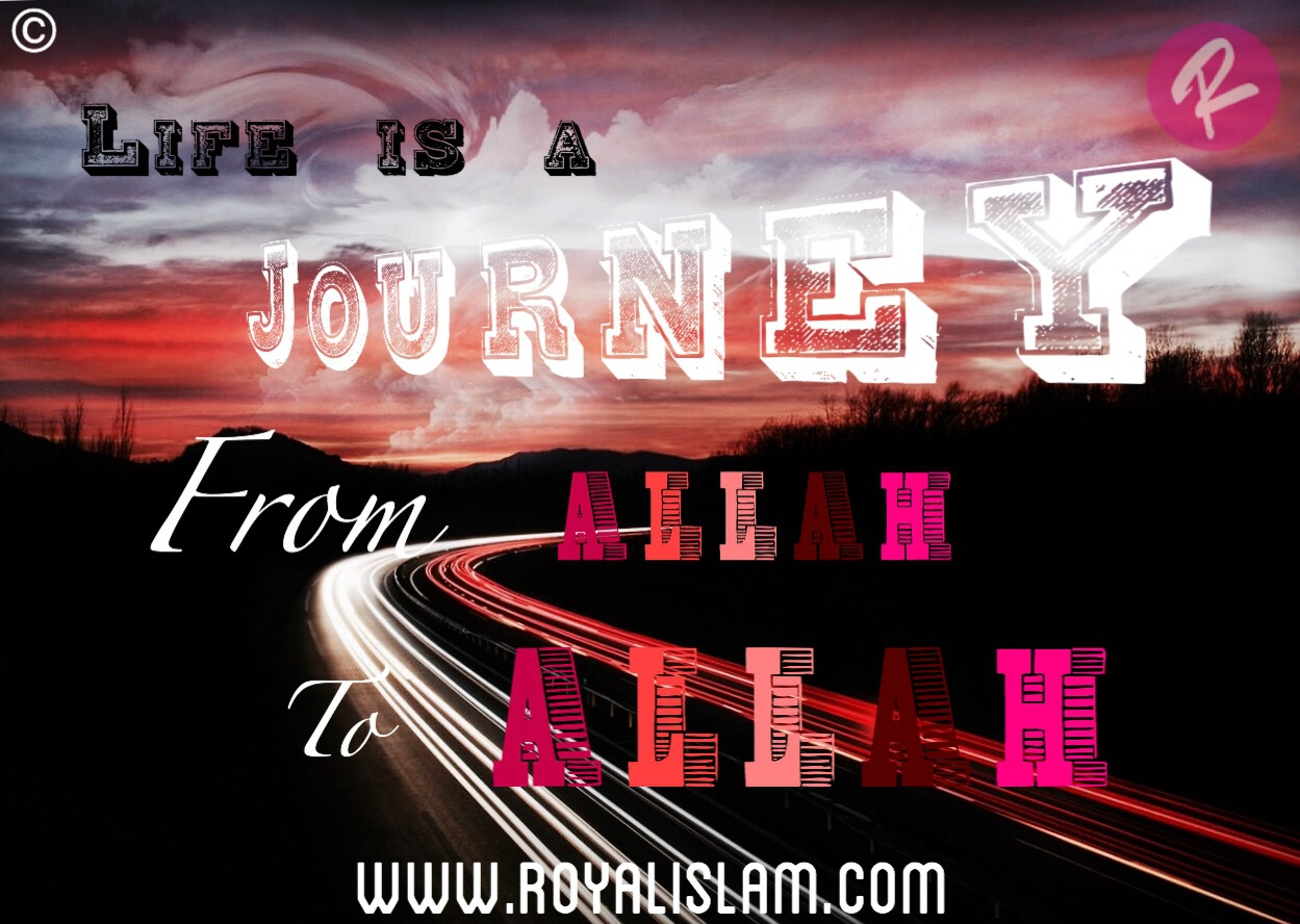 allah, journey, and life image