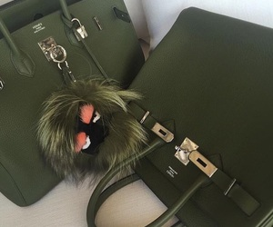 fashion, green, and hermes image