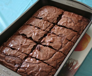 brownie, quality, and tumblr image