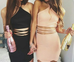 dress, friends, and style image