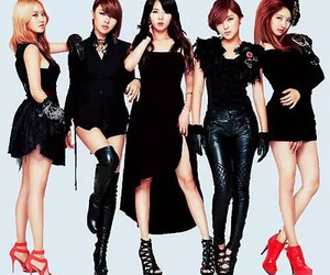 4minute and 포미닛 image