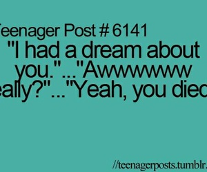 funny, Dream, and teenager post image