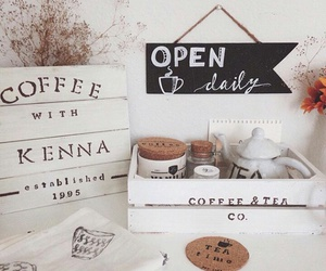 autumn, coffee, and coffee station image