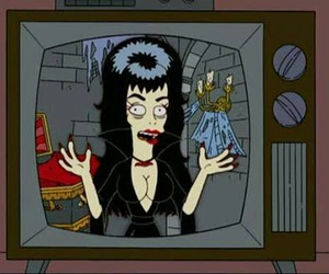 cartoon and elvira image