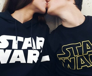 star wars, kiss, and love image