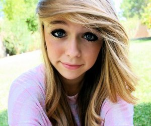 girl, cute, and blonde image