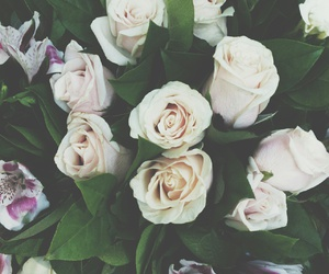 beauty, flowers, and pretty image