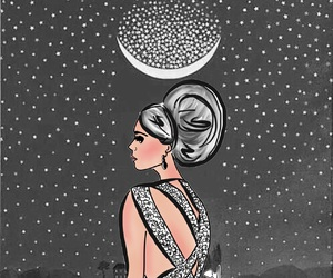 chic, draw, and illustration image