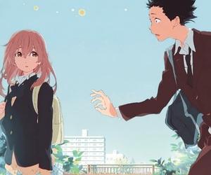 koe no katachi, anime, and a silent voice image