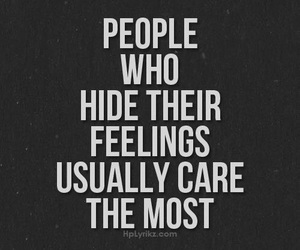 feelings, quotes, and care image