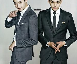 kim woo bin, korean, and lee jong suk image