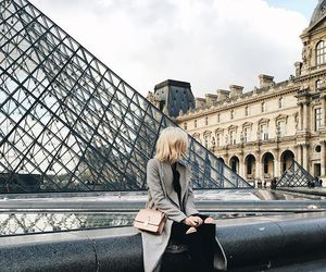 travel, girl, and city image