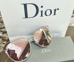 dior, sunglasses, and glasses image