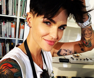 ruby rose and tattoo image