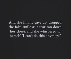quotes, sad, and depressed image