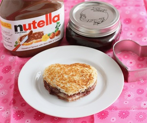 nutella and heart image