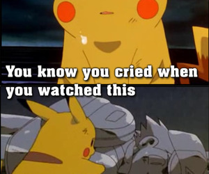 pokemon, pikachu, and cry image