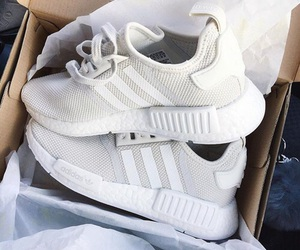 adidas, white, and fitness image