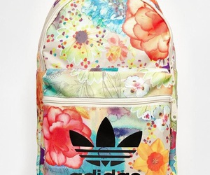 backpack, adidas, and colors image