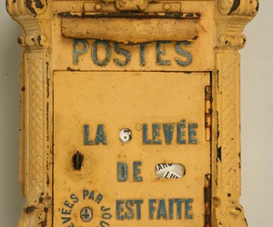 french, vintage, and letters image